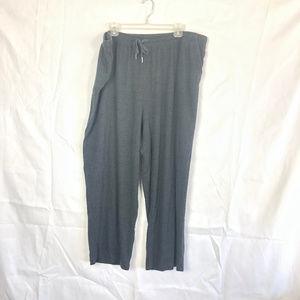Woman Within women's Gray Sweat Pants 101K